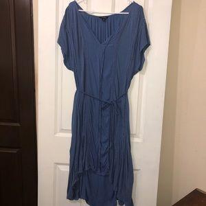 Lucky Brand Women's Blue Boho Dress Size Large